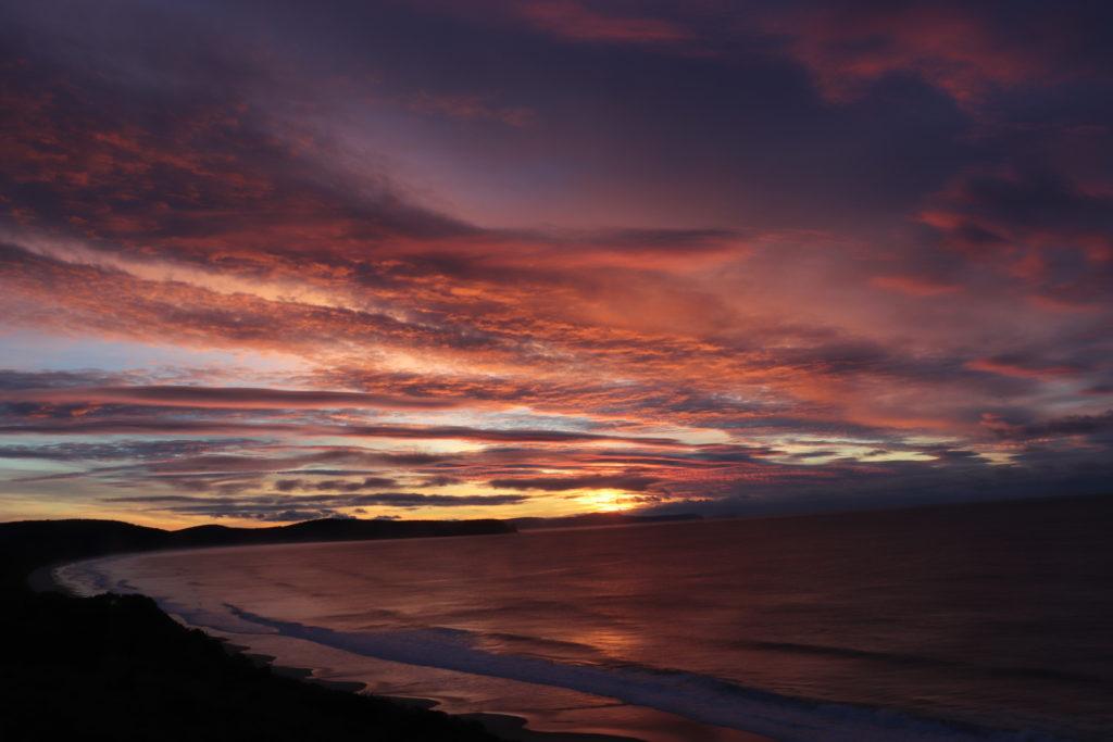 Sunrise in Bruny Island /Tasmania, April 2019
